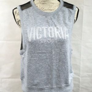 Victoria's Sport Gray Athletic Sweat Shirt